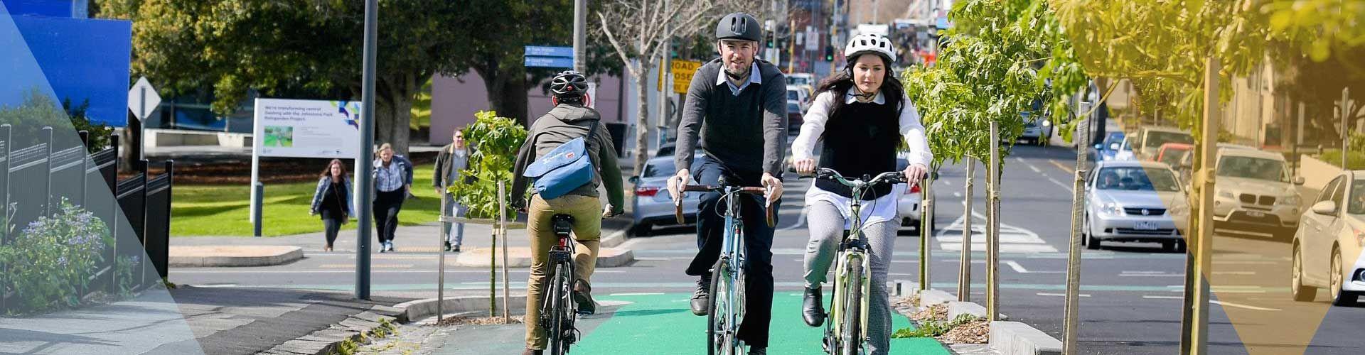 Walking and bike riding hub Image